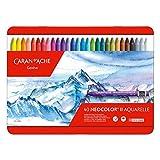 Caran D'ache Neocolor II - Juego de ceras de color (40 unida
