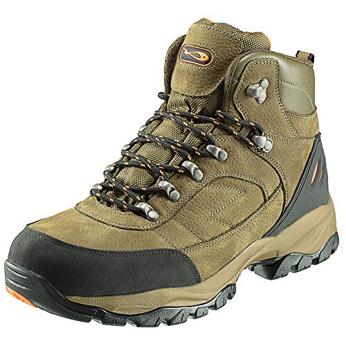 TF Gear Hydro-tec Waterproof Mid Ankle Carp Fishing Boots, Lined for Extra Warmth & Padded Foot Bed for Extra Comfort (8)