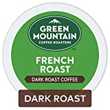 Green Mountain Coffee Roasters French Roast, Single-Serve Keurig K-Cup Pods, Dark Roast Coffee, 72 Count