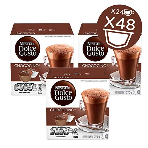 NESCAFÉ Dolce Gusto Coffee Capsules Chococino 48 Single Serve Pods, (Makes 24 Specialty Cups) 48 Count