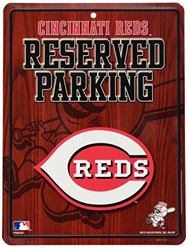 Rico Industries MLB Cincinnati Reds Parking Sign