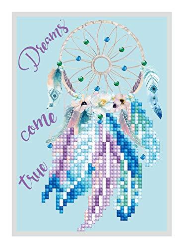 Pracht Creatives Hobby DDG-007 - Diamond Dotz Grußkarte Traumfänger