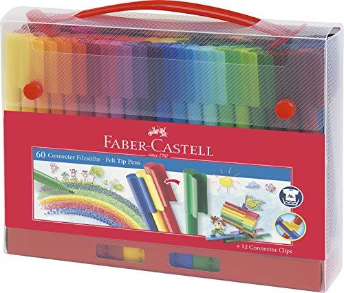 Faber-Castell Faber-Castell 155560 Filzstift Connector, im Bild