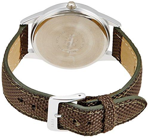 『[シチズン キューアンドキュー]CITIZEN Q&Q 腕時計 ウォッチ ミリタリー 5気圧防水 キャンバスベルト カーキ メンズ レディース キッズ』の1枚目の画像