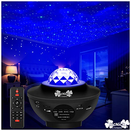 Star Night Light Projector for Kids - LED Star Projector Night Light - Stars on Ceiling Night Light
