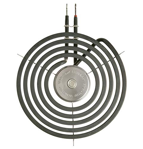 "GE & HOTPOINT ELECTRIC RANGE BURNER ELEMENT SENSI-TEMP COIL - 8"""