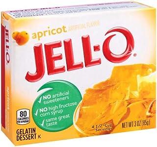 Jell-o, Gelatin Dessert, Apricot (Pack of 2)