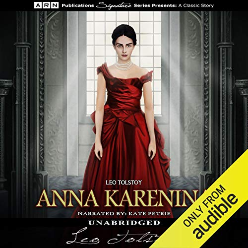 Anna Karenina audiobook cover art