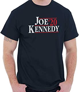 Brisco Brands Joe Kennedy 2020 Democrat President POTUS T Shirt Tee