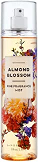 Bath & Body Works Almond Blossom Fine Fragrance Mist, 8 Ounce