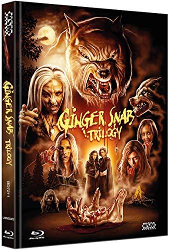Ginger Snaps Trilogy [3 Blu-Ray] - uncut - auf 666 Stück limitiertes Mediabook