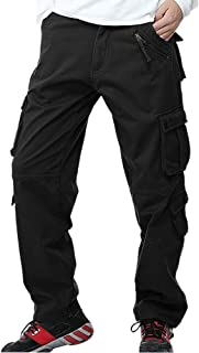 Best mens fleece lined cargo trousers Reviews