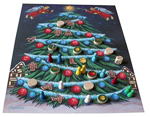 O Tannenbaum - Das Weihnachts-Brettspiel für die ganze Familie (Small). Spielplan auf LKW-Plane.