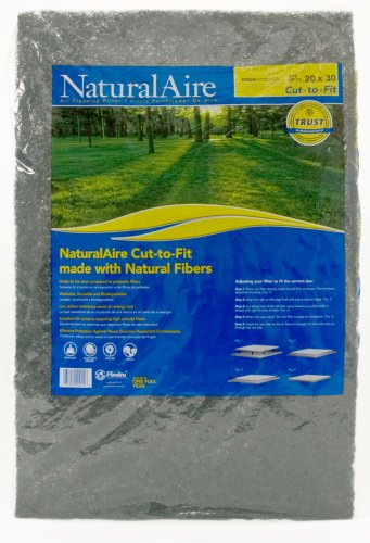 NaturalAire SM1006 Cut-to-Fit Synthetic Air Filter, MERV 4, 20 x 30 x 1-Inch, 6-Pack, Color may vary