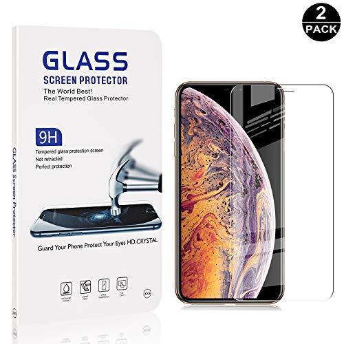 Duret/é 9H Protection en Verre Tremp/é /Écran pour Huawei Honor 8X Sans Bulles 2 Pi/èces Film Protection /Écran Vitre The Grafu/® Verre Tremp/é Huawei Honor 8X