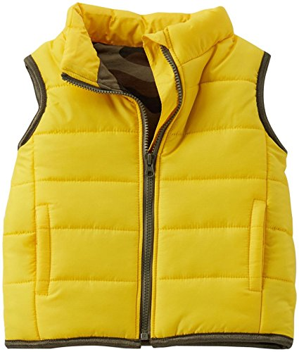 Carter's Vest (Baby) - Yellow-Newborn