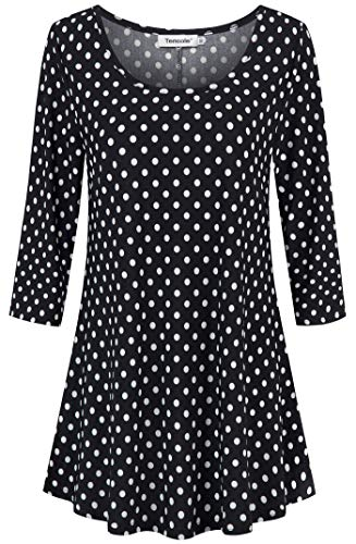 Plus Size Clothing for Women, Womens Colored Polka Dot Oversized Sexy T-Shirt Dress Blusas De Mujer Tallas Grandes Petite XL Formal Shirts Tops Wardrobe Express Blouses Tunic Sweaters Pullover