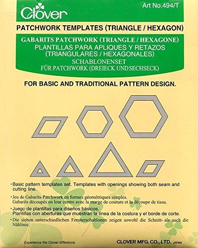 Clover Patchwork Plantilla, 18.5x13x0.8 cm