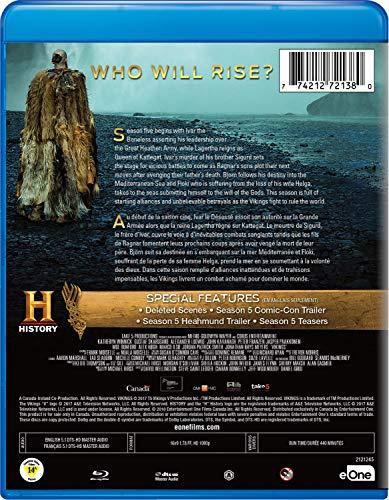 Vikings: Saison 5 Partie 1 [Bilingue] [Blu-ray] - 1