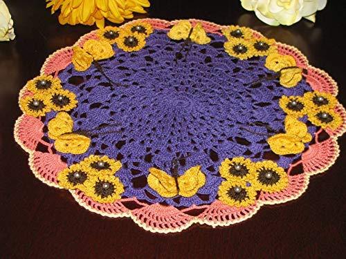 Brand new handmade crochet doily Max 67% OFF Purchase order custom