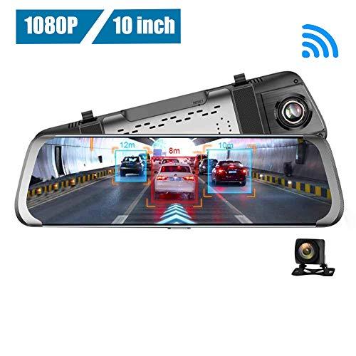 AnySell Junsun A930 Rückfahrkamera, 10 Zoll (25,4 cm), 4G, Wlan, Android, für Autos, ADAS, GPS, Dash Cam