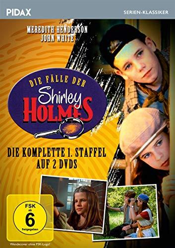 Die Fälle der Shirley Holmes, Staffel 1 / Die ersten 13 Folgen der preisgekrönten Krimiserie (Pidax Serien-Klassiker) [2 DVDs]
