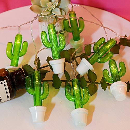 YLSMN LED Kaktus Kokospalme Ananas Lichterkette Kinderzimmer Deko Licht Nachtlicht nachttischlampe nachtlicht