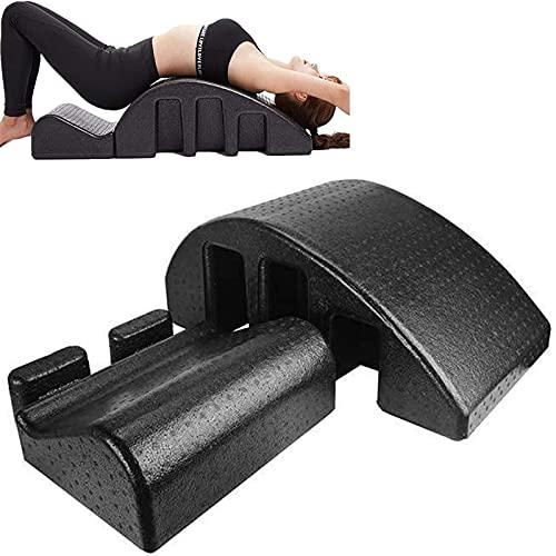 ZLZNX Pilates Masaje Cama, Ortesis de Columna Vertebral Deformidad de La Columna Cervical Corrección Yoga Espuma Kyphosis Corrección Equipo de La Aptitud Pilates Arco