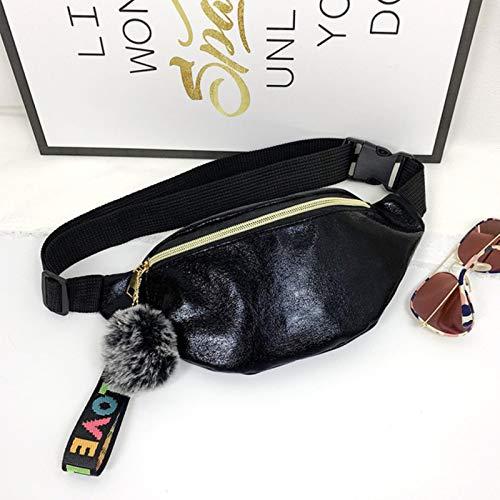 ASDFG Bolso pequeño Deportivo de Viaje Dropship para Mujeres y niñas, Bolso Bandolera Impermeable para la Cintura, riñonera para Mujer, riñonera de Viaje a la Moda, riñonera