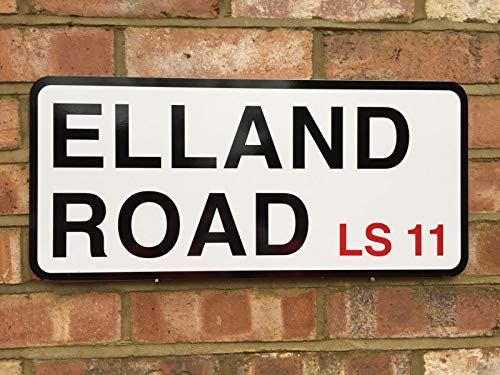 EpochSign Leeds United Elland Road Street Sign Street Sign 8X12 inches