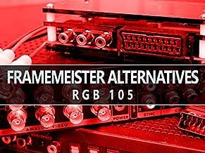 RGB105 :: Framemeister Alternatives - OSSC, DVDO, SCART to HDMI & More