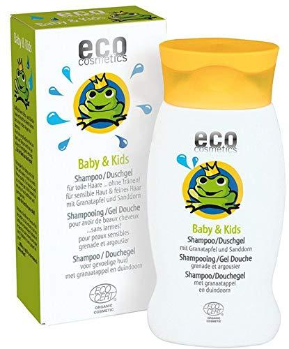 eco cosmetics Bio Baby & Kids Shampoo & Duschgel (6 x 200 ml)