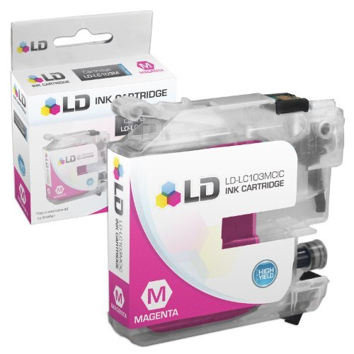 LD Compatible Ink Cartridge Replacement for Brother LC103BK High Yield (Black, 2-Pack) Photo #4