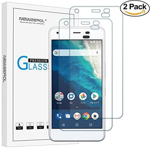 【2枚セット】Newzerol for Kyocera Android One S4/DIGNO J 専用 強化ガラスフィルム【5インチ用・旭硝子素材・0.26mm・2.5D・透過率99%・硬度9H・気泡防止】Y!mobile 液晶保護フィルム