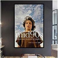 Mid90s映画壁アートキャンバス絵画ポスターリビングルーム家の装飾壁の装飾-50x75cmフレームなし