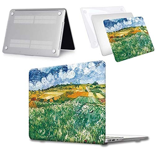 New For Macbook Air 11 / Air 13 / Pro 13 / Pro 15 / Pro 16 / For Macbook 12 Models Paint Pattern Printing Design Hard Shell