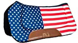 Hkm 4057052008658 Western Pad – Stars & Stripes-7905 Flag Usavollblut/Sang Chaud