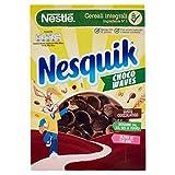Nesquik Choco Waves Cereali Barchette di Cereali Integrali al Cioccolato 375 g