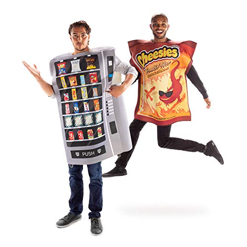 Snack Machine & Freakin' Hot Cheesies Couples Costume – Funny Food Outfits