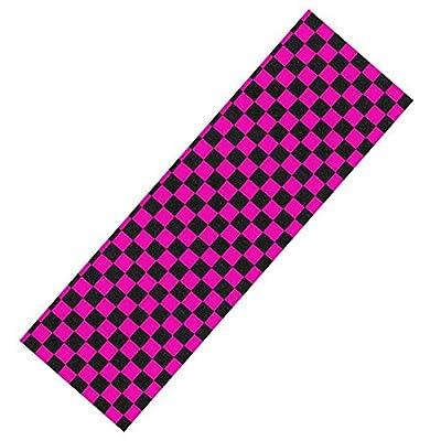 Enuff Skateboard Griptape-kariert pink