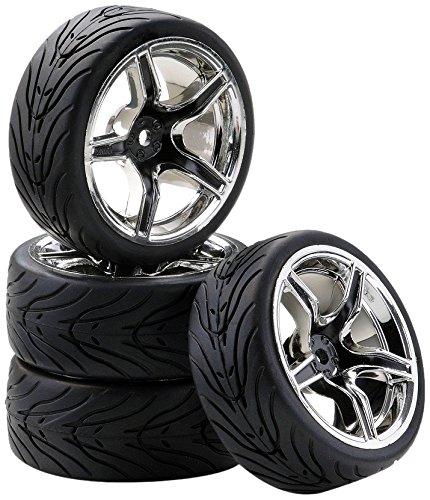 Carson 500900545 1:10 SC Räder AMC Style 4, schwarz