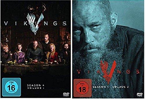 Vikings Staffel 4.1+4.2 [DVD Set] Die komplette Staffel 4