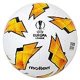 MOLTEN Replica de la UEFA Europa League – 1000 Modelo Oficial de Bola, Color Naranja, tamaño Talla 5