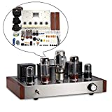 Nobsound 6H9C+EL34 Amplificatore valvolare, HiFi Stereo 2.0 Channel Single-Ended Class A, Amplificatore Audio Kit DIY Kit 13 W x 2