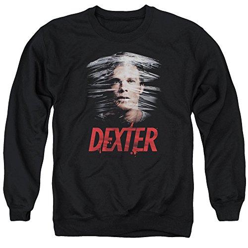 Dexter Herren Pullover aus Kunststoff Gr. XXXL, Schwarz