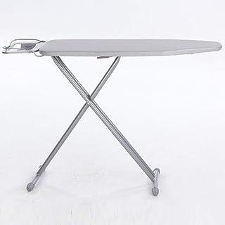 ZB-KK Table à Repasser en métal, Argent résistant à la Chaleur Table à Repasser Hôtel d'affaires Table à Repasser, Convien...