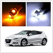 SCITOO LED Interior Lights 9pcs Yellow Package Kit Accessories Replacement for 1998-2002 Honda Accord Sedan Coupe
