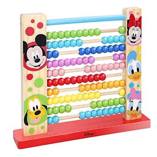 WOOMAX - Ábaco vertical infantil 10 filas - Juguetes Montessori Juguetes educativos - Juguetes para Niños 1 2 Años Ábacos para niños Primaria Preescolar Juguetes niños niñas