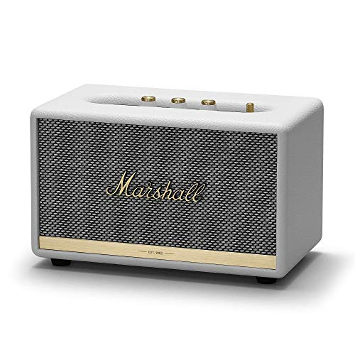 Marshall acton II - Alta voz Bluetooth, Color Blanco, EU