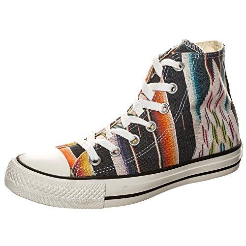 Converse Chuck Taylor All Star - Sneaker alte in tela, unisex, Nero (Nero ), 37 EU